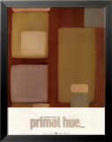 Primal Hue II Poster par Maria Eva