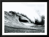 Pacific Wave Print by Gilles Martin-Raget