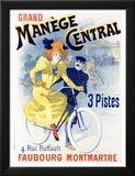 Grand manège central Poster par Lucien Baylac