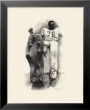 Lou Groza Print by Allen Friedlander