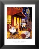 Café de Paris Affiche par David Marrocco
