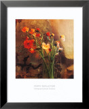Poppy Reflection Posters by Susan Friedman