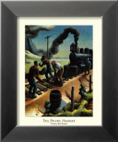 Ten Pound Hammer Art by Thomas Hart Benton