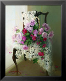 Roses and Lace Art by Joyce Birkenstock