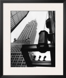 Chrysler Building Prints by Trefor Ball