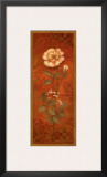 Rose with Baby's Breath Prints by Pamela Gladding