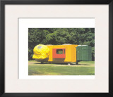 Mobile Home for Kroller Muller, c.1995 Prints by Joep Van Lieshout