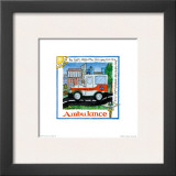 Ambulance Prints by Lila Rose Kennedy