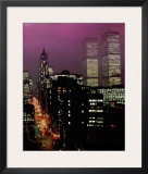 Purple Skies Print by Geoffrey Clifford
