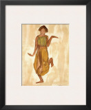 Cambodian Dancer Print by Auguste Rodin