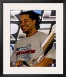 Manny Ramirez MVP Framed Photographic Print