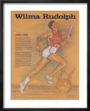 Great American Women - Wilma Rudolph Poster