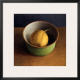 Green Bowl I Print by  Van Riswick