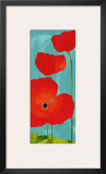 Poppy Sky Poster by Susy Pilgrim Waters