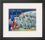 Jason Giambi - Multiple Exposure 2 Framed Photographic Print