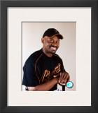 Marquis Grissom - Studio Portrait Framed Photographic Print
