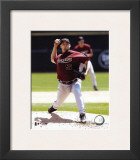 Wade Miller - 2004 Pitching Action Framed Photographic Print