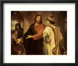 Christ and the Rich Young Ruler Prints by Heinrich Hofmann