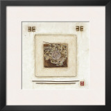White Rectangle Print by Diana Thiry