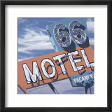 66 Motel Affiches par Anthony Ross