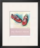 My Dance Shoes Prints by Catherine Richards