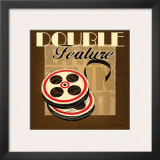 Double Feature Print by Stacy Gamel