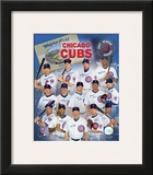 2007 Chicago Cubs Team Framed Photographic Print