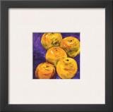 Crowd of Oranges Print by Natasha Barnes