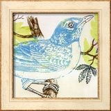 Bluebird Prints by Swan Papel