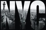 New York - NYC Mauerbild Poster