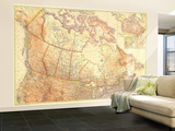 1936 Canada Wall Mural – Large