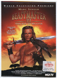 Beastmaster III- The Eye of Braxus Masterprint