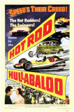Hot Rod Hullabaloo Masterprint