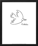 Dove of Peace Arte por Pablo Picasso