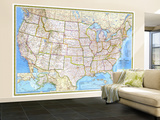 United States 1982 Wall Mural – Large