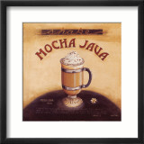 Mocha Java Print by Lisa Audit