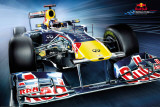 Red Bull Racing-Frontal Kunstdrucke
