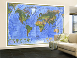 World Physical 1975 Wall Mural – Large