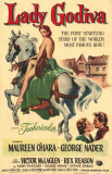 Lady Godiva Masterprint