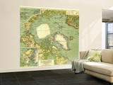 1925 Arctic Regions Map Wall Mural – Large