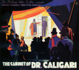 Cabinet of Dr. Caligari Masterprint