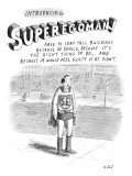 Introducing SUPEREGOMAN! - New Yorker Cartoon Premium Giclee Print by Roz Chast