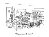 """They only want the starter."" - New Yorker Cartoon Premium Giclee Print by Tom Cheney"