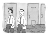 """Some of us negotiate our contracts better than others."" - New Yorker Cartoon Premium Giclee Print by Peter C. Vey"