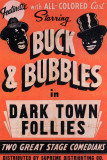Dark Town Follies Lmina maestra