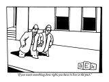 """""""If you want something done right, you have to live in the past."""" - New Yorker Cartoon Premium Giclee Print by Bruce Eric Kaplan"""