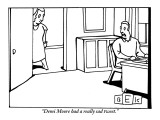 &quot;Demi Moore had a really sad tweet.&quot; - New Yorker Cartoon Premium Giclee Print by Bruce Eric Kaplan