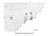 """What if the meek don't want it?"" - New Yorker Cartoon Premium Giclee Print by Mick Stevens"