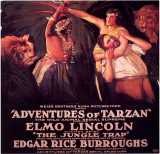Adventures of Tarzan Masterprint