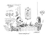 """Leave room for sex."" - New Yorker Cartoon Premium Giclee Print by David Sipress"